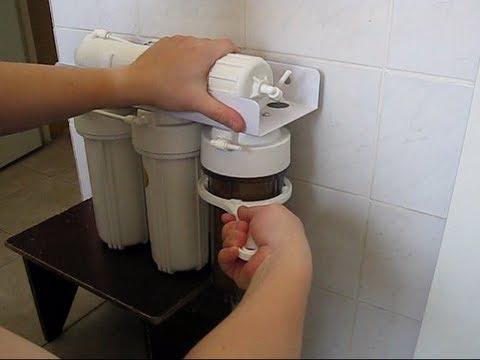 Как установить фильтр для воды - пошаговое руководство
